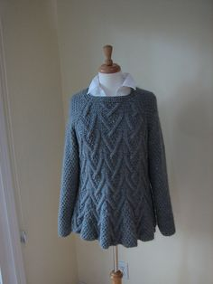 Rambler pattern by Marie Wallin. Pattern free with link at Ravelry to Rowan