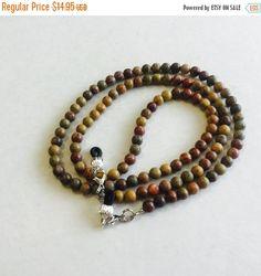 Ray52 Chinese Rainbow Jasper Eyeglasss Chain, eyeglass cord, Sunglass chain, glassses chain , necklace