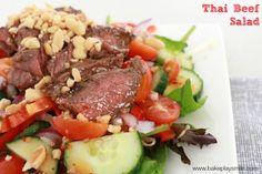 Easy Thai Beef Salad | Bake Play Smile