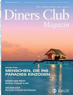 A Kelly Hoppen interior design product was featured in September 2012 issue of Diners Club magazine.