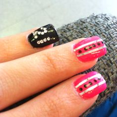 21st birthday nails!!! 21st Birthday Nails, Girl Birthday, Birthday Bash, Birthday Ideas, Christmas Nail Art Designs, Christmas Nails, Cute Nails, Pretty Nails, Just Girl Things