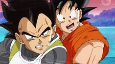 Goku and Vegeta. I miss the Goku from DBZ tbh. The Super Goku is too annoying. Dbz Characters, Fictional Characters, Sebaciel, Goku And Vegeta, Wattpad, Dragon Ball Z, Memes, Anime, Geek Stuff