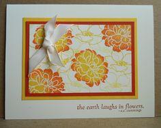 Card: Fabulous Florets