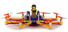 Flybrix, fabrica tu propio drone con piezas de LEGO #drones #arduino #diy #makers #stem #educacion
