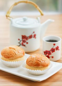 Thirsty For Tea Dim Sum Recipe #12: Golden Pineapple Buns (Bolo Bao)