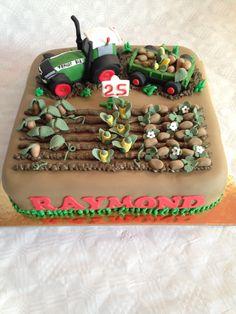 Landbouw Traktor Taart