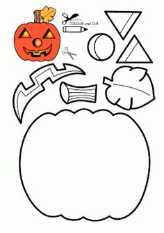 children activities, more than 2000 coloring pages Halloween Arts And Crafts, Halloween Crafts For Toddlers, Halloween Activities, Halloween Projects, Diy Halloween Decorations, Halloween Kids, Halloween Themes, Halloween Pumpkins, Kindergarten Christmas Crafts