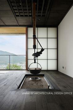 囲炉裏のある和室的空間|HouseNote(ハウスノート)