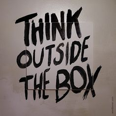 Think outside the box Bulletin Board or Hall Decoration