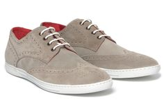 JUNYA WATANABE COMME des GARCONS MAN x Tricker's Suede Wingtip Sneakers