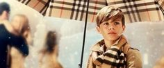 Romeo Beckham Stars In Burberry's 'From London With Love' Christmas Campaign (VIDEO)