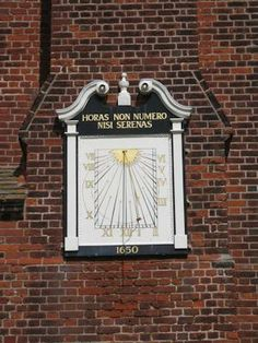 Question 13.	Where can you find this sundial?