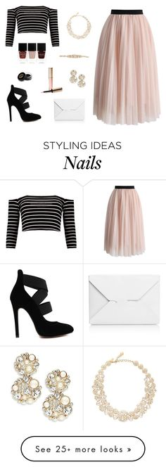 """""""Untitled #374"""" by irachkamarkovna on Polyvore featuring Chicwish, J.W. Anderson, Kate Spade, Nails Inc., By Terry and Gucci"""