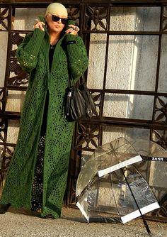 Gilet Crochet, Crochet Coat, Crochet Clothes, Crochet Edgings, Gypsy Winter, Bohemian Gypsy, Crochet Fashion, My Beauty, Dressing
