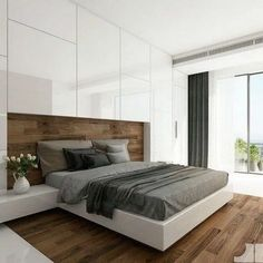 Impressive Concepts For an Glorious Couple Bedroom Interior Design Bedroom Built In Wardrobe, Fitted Bedroom Furniture, Fitted Bedrooms, Small Master Bedroom, Master Suite, Small Minimalist Bedroom, Modern Bedroom Design, Bed Design, Interior Design Living Room