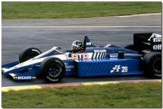1986 Jacques Laffite Ligier JS27 Renault F1