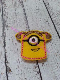4 Piece Cute Girl Men yeh  Felties by IsellusDesigns on Etsy