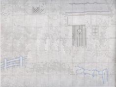 Stickerei-Garten-Schema mit einer Brücke (Anker) 3 Von 6