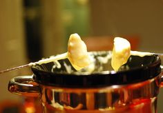 Fondue, New Year's Eve appetizer!