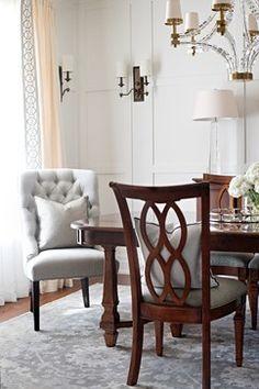 ST. MARGARET'S - Dining Room - Toronto - Elizabeth Metcalfe Interiors & Design Inc.