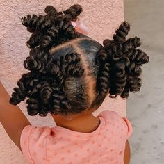 Kids Crochet Hairstyles, Black Baby Hairstyles, Cute Hairstyles For Medium Hair, Natural Hairstyles For Kids, Kids Braided Hairstyles, Baddie Hairstyles, Cool Hairstyles, Natural Hair Styles, Ponytail Hairstyles
