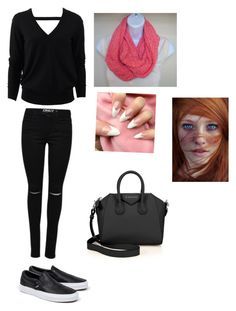 """Untitled #519"" by nataliecapellan ❤ liked on Polyvore featuring Vans, Michael Kors and Givenchy"