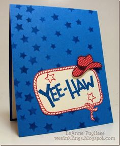 Paper Players 214 - SU - Birthday, Endless Birthday Wishes, Paper Players, Stampin Up, Yee-Haw - masculine