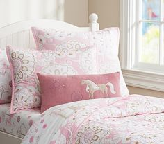 Paige Quilted Bedding | Pottery Barn Kids