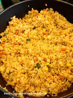 Easy & delicious homemade fried rice! Perfect for making with rice leftovers!