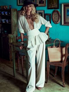 Candice Swanepoel By Vivanco, Nunes & Dequeker For Vogue Brazil January 2014-1 - 0- News for Women, Fashion & Style, Women's Rights - Anne of Carversville Women's News