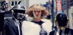 Daft Punk & Karlie Kloss