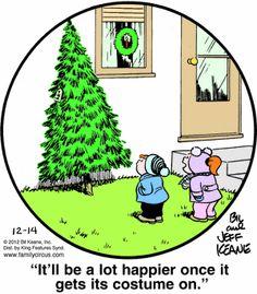 Family Circus Cartoon for Dec/14/2012
