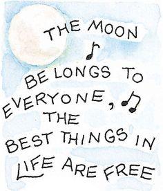❥ the moon belongs to everyone