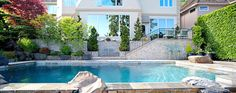 We at North Shore Landscaping are expert in building swimming pools that are ready to stand with time making us best pool builders in Sydney. We have always latest designs available from which you can choose the one that suits your needs. Building A Swimming Pool, Indoor Swimming Pools, Swimming Pool Designs, Desert Backyard, Large Backyard, Buy A Pool, Diy Pool, Kidney Shaped Pool, Beautiful Pools