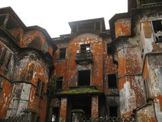 Abandoned resort in Cambodia.