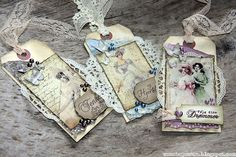 Nicecrane Designs: Vintage Cards , Tags and Children from Many Lands