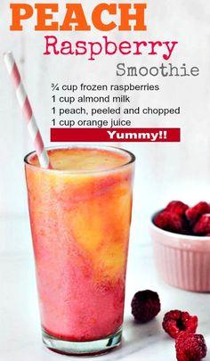 Low fat, low energy peach and raspberry smoothie to . - Low fat, low energy peach and raspberry smoothie to . Charlyxx Backen Low fat, low energy peach and raspberry smoothie to . Raspberry Smoothie, Juice Smoothie, Smoothie Drinks, Detox Drinks, Smoothie King, Raspberry Lemonade, Strawberry Pineapple Smoothie, Frozen Fruit Smoothie, Smoothie Shop