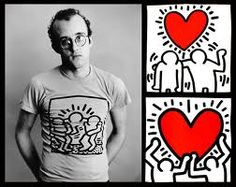 Keith Haring. He copied a chalk drawing he made with Allen Ginsberg on the streets of Lawrence, KS, for me on a check stub. So lucky.