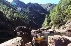 Raft the Franklin River, Tasmania.