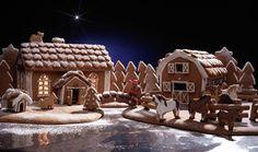 Piparkakkutalon ohje: Mummolan piparkakkutalo – Kotiliesi Gingerbread, House Decorations, Cookies, Baking, Desserts, Christmas, Food, Crack Crackers, Tailgate Desserts