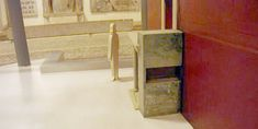 Model of the niche in the graffiti wall g on the Tomb of St Peter. Wooden Table Diy, St Peters Basilica, Graffiti Wall, Saints, Model, Rome, Scale Model, Models