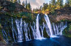 Burney Falls by Mi-Sun via http://ift.tt/2gY5mM0