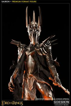 Sideshow Lord Of The Rings Sauron Premium Format Figure Mordor ROTK Hobbit New