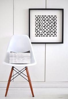 eames dowel chair
