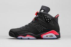 """Air Jordan 6 Retro """"Black/Infrared23″"""