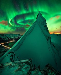 ~~In Green Company | aurora borealis, Svolvaer, Norway by Max J R~~