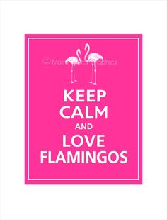 I wish I could find this as a sign for Jadyn's room. She LOVES flamingos.