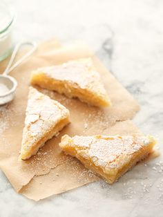 Meyer Lemon Bars #recipe