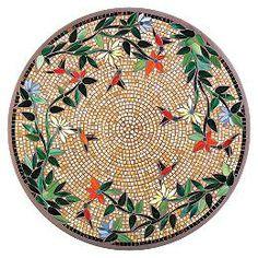 KNF - Neille Olson Mosaics Caramel Hummingbird Collection