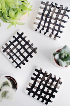 ok, I'll admit it. I've gone overboard with the coasters. Not even I need as many coasters as we have littered around the flat right now but I couldn't help myself. When the idea for these DIY crisscross coasters popped into my head I knew I had to make them even if it meant creating …